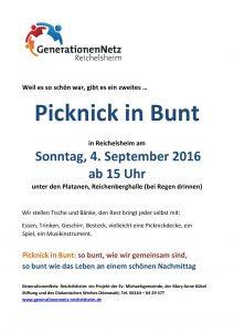 Plakat Picknick 2
